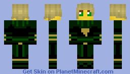 Lloyd Skywalker Minecraft Skin