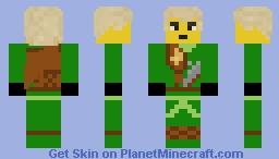 Lloyd (Zukin Robes) Minecraft Skin