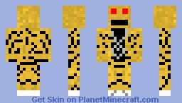 LMFAO Robot-Guy Minecraft Skin