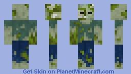 Lobber Zombie (Minecraft Earth) Minecraft Skin
