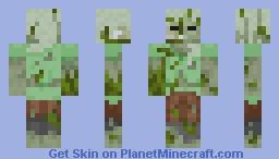Lobber Zombie Alex Minecraft Skin