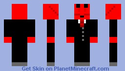 Lobster in a Suit Minecraft Skin