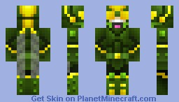 The Locust - Hero (Contest) Minecraft Skin
