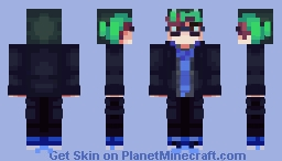 Logan Sanders - Logic (Cheap Frankenstein's Monster) Minecraft Skin