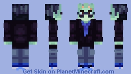 Logan Sanders - Logic (Frankenstein's Monster) Minecraft Skin