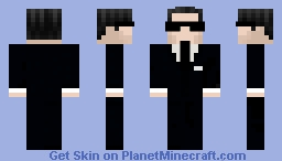 Loki - D. B. Cooper Minecraft Skin