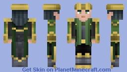 Loki | STRIKE Minecraft Skin