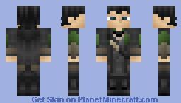 Loki - Avengers (Thor's Brother) Minecraft Skin