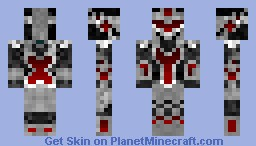 redstone knight!!!!!!!! Minecraft Skin