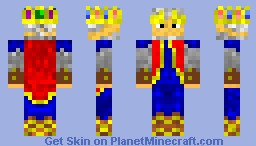 The Brave King Minecraft Skin