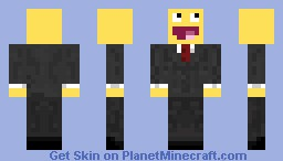 LOL face Minecraft Skin