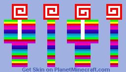 lollipop thing Minecraft Skin