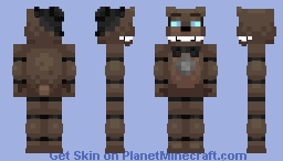 Lonely Freddy (Fazbear Frights) Minecraft Skin