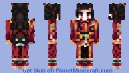 ★龙威 | Lóng-Wēi ★ [Original Character | Reference Sheet Included] Minecraft Skin