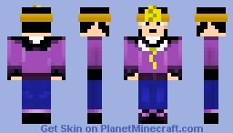 Lord British - Ultima VII Minecraft Skin