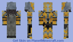 Destiny - Lord Saladin (with helmet) 1.8+ Minecraft Skin