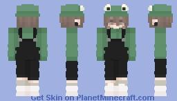 Arina(Frog) Minecraft Skin