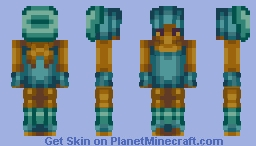 A traveller known as the Midnight Wanderer... Minecraft Skin