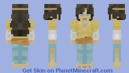 Lubna Of Córdoba | World Heritage Contest Entry Minecraft Skin
