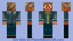Lucifer (with lesions) SuperNatural Minecraft Skin