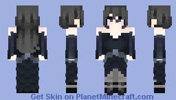 Lucia Willems (Ball dress) Minecraft Skin