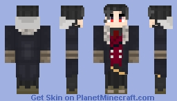 Obey Me! Lucifer - Coat Edition Minecraft Skin