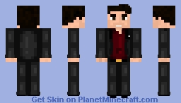 Lucifer Morningstar - Netflix (Tom Ellis) Minecraft Skin