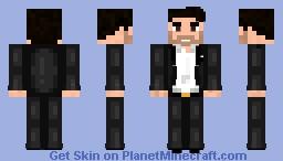 Lucifer Morningstar (White Shirt) - Netflix Minecraft Skin