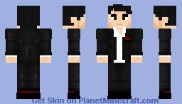 Lucifer Morningstar DC (Tom Ellis) Minecraft Skin