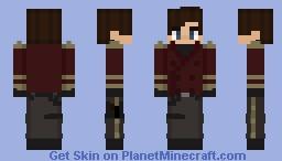 Lucious Ramone (OC) (Star Wars Server) Minecraft Skin