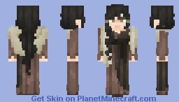 | Luebella Nolles | Amnesiac Newcomer | Minecraft Skin