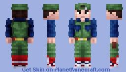 Luigi Mario [Super Mario Bros. Movie] Minecraft Skin