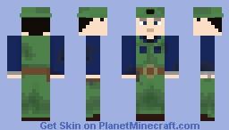 Luigi Mario - Super Mario Suit 3 Minecraft Skin