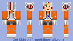 Luke Skywalker (Pilot) Minecraft