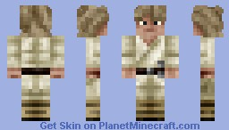 Luke Skywalker Minecraft