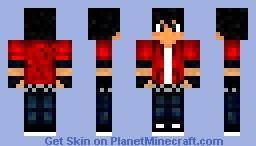 Block city wars Luke (Custom 2) Minecraft Skin