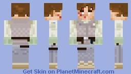 Luke Skywalker (HOTH) [MOVIE] Minecraft Skin