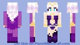 Moon Costume (w/ cloak) (Request) Minecraft Skin