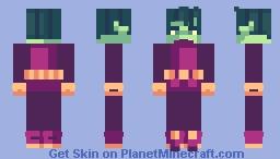 Beast Boy | Fishkiss' Palette Contest Minecraft Skin