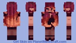 Sunset Sensation Minecraft Skin