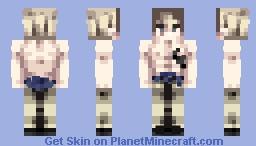 Fairy Tail | Laxus Dreyar (Alvarez Arc AFTER Wall's Fight) Minecraft Skin