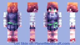 Amanda O'Neill Minecraft Skin