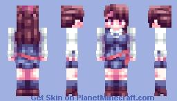 Atsuko Kagari Minecraft Skin
