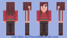 Lydia | The Walking Dead | The Tower Minecraft Skin
