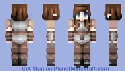 ♡ 𝓿𝒶𝓁𝓀𝓎𝓇𝒾𝑒𝓃 ♡ lydia | skyrim Minecraft Skin
