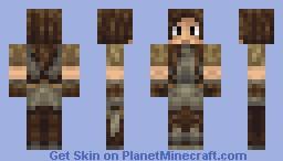 Lydia from Skyrim Minecraft Skin