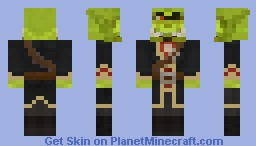 Rogash The Red Minecraft Skin