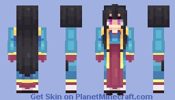 """I wish to become a 'pure' Ma."" Minecraft Skin"