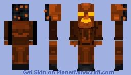 Mac 'O Lantern (Five Nights With Mac Tonight Halloween Update) Minecraft Skin