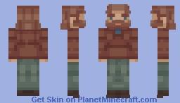 RJ Macready | The Thing (1982) Minecraft Skin
